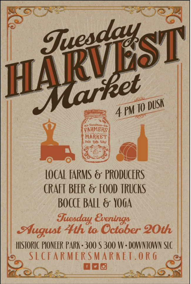Tuesday Harvest Market Reopens August 4