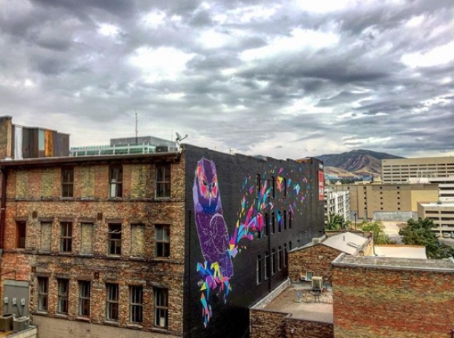 Largest Mural Project In Utah Currently Underway Downtown